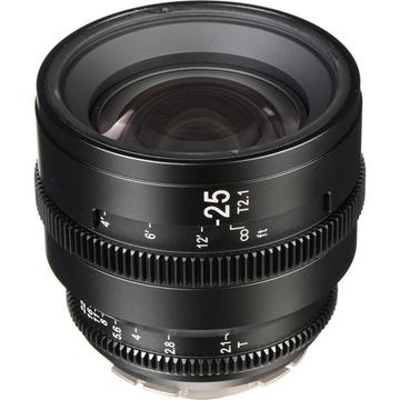 SLR Magic APO HyperPrime CINE 25mm T2.1 Lens with PL Mount