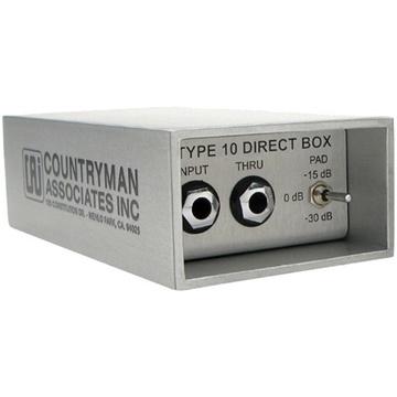Countryman Type 10 Direct Box - Active DI