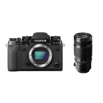 Fujifilm X-T2 Mirrorless Digital Camera (Black) with XF 50-140mm f/2.8 R LM OIS WR Lens