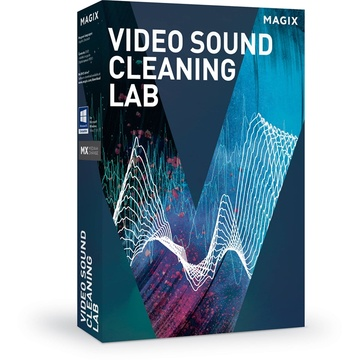 MAGIX Entertainment Video Sound Cleaning Lab - Audio Optimization Software (Educational, Download)