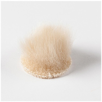 Rycote Overcovers Advanced, Fur Discs for Lavalier Microphones (100-Pack, Beige)