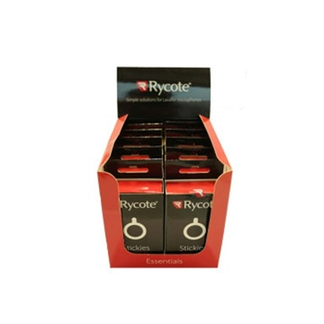 Rycote Stickies 23mm O's Advanced, Adhesive Pads (Master Carton of 10 x Packs)