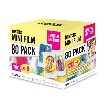 Fujifilm instax Mini Film Limited Edition Pack (80 Exposures)