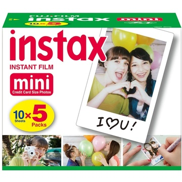 Fujifilm instax mini Film (50 Exposures)