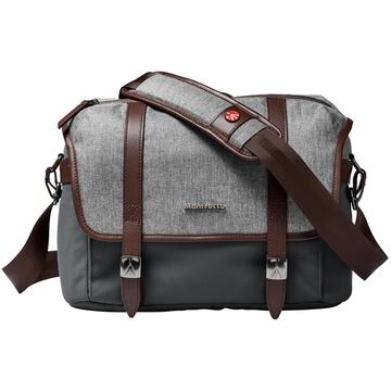 Manfrotto Windsor Camera Messenger Bag (Small, Gray)
