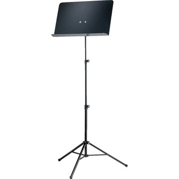 K&M 10068 Aluminum Sheet Music Stand (Black)