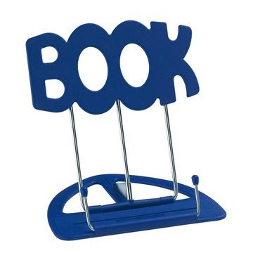 K&M 12440 Uni-Boy Book Stand (Blue)