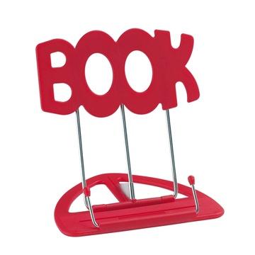 K&M 12440 Uni-Boy Book Stand (Red)