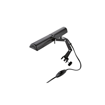 K&M 122/6 Double Music Stand Light