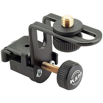 K&M 24030 Drum Rim Microphone Mount (Black)