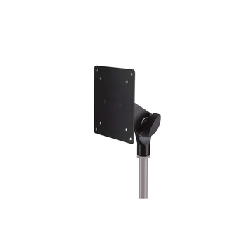 K&M 19685 Screen Adapter for Mounting to Mic Stands (Black)