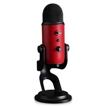Blue Yeti USB Microphone (Satin Red)