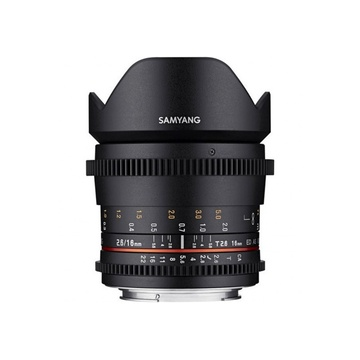 Samyang 16MM T2.6 VDSLR ED AS UMC Lens for Canon