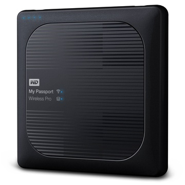 WD 2TB My Passport Wireless Pro USB 3.0 External Hard Drive