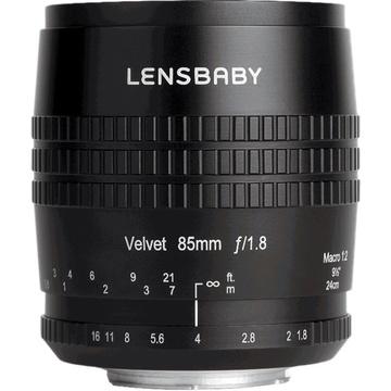 Lensbaby Velvet 85mm f/1.8 Lens for Fujifilm X