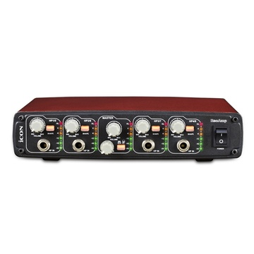 Icon Pro Audio Reo Amp Compact 4-Channel Headphone Amplifier