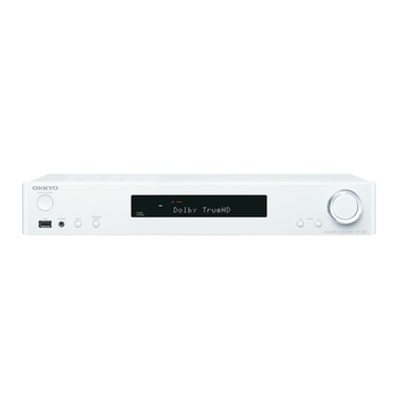 Onkyo TXL50 5.1 Channel Slim AV Receiver (White)