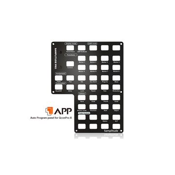 Icon Pro Audio Samplitude Auto Program Panel for QCon Pro X