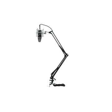 Icon Pro Audio MB-03 Desk Mount Scissor Microphone Stand