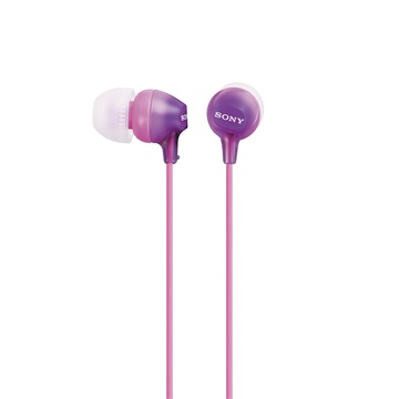 Sony MDR-EX15LP In-Ear Headphones (Violet)