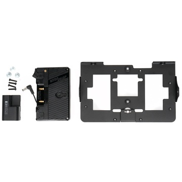 SmallHD Gold Mount Battery Bracket with Mounting Plate for 702 OLED Monitor