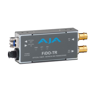 AJA FiDO-TR SD/HD/3G SDI / Optical Fibre Transceiver