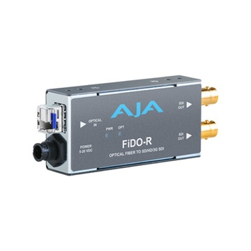 AJA FiDO-R Optical Fibre to SD/HD/3G SDI Converter
