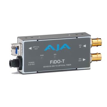 AJA FiDO-T SD/HD/3G SDI to Optical Fibre Converter