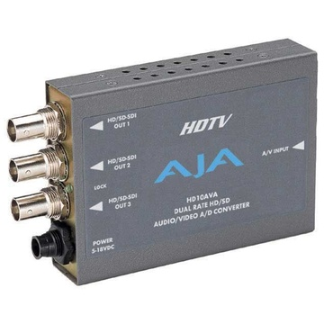 AJA HD10AVA Analog Audio/Video Converter