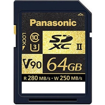 Panasonic 64 GB SDZA V90 SD Card