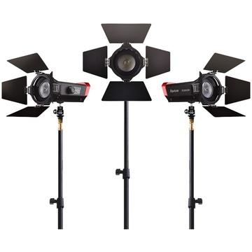Aputure LS-Mini20 3-Light Flight Kit (DDC) With Stands