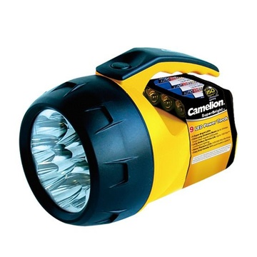 Camelion Superbright 9LED Torch+AA (OM6)