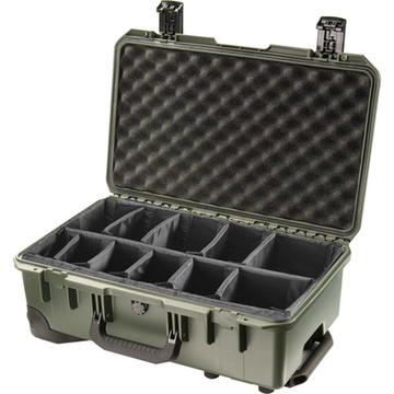 Pelican iM2500 Storm Case with Padded Dividers (Olive Drab Green)