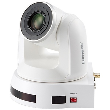 Lumens VC-A70HW 4K UHD 12x Optical Zoom PTZ Video Camera (White)