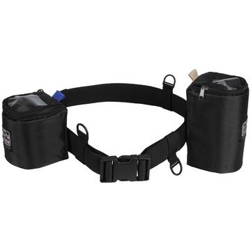 PortaBrace Waist Belt with 2 Lens Cups (Black)