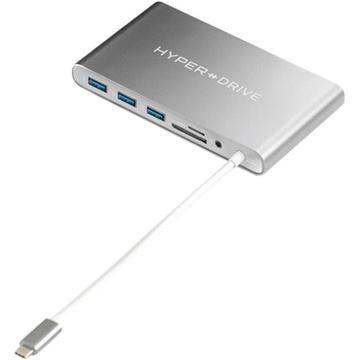 Sanho HyperDrive Ultimate USB 3.0 Type-C Hub (Gray)