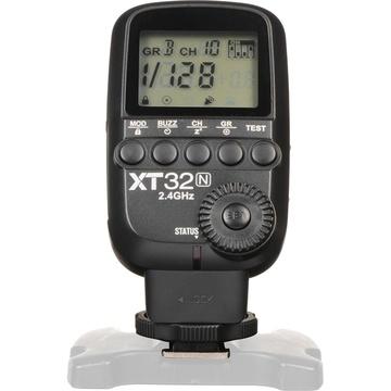 Godox XT32N Wireless Power-Control Flash Trigger for Nikon Cameras
