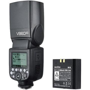 Godox VING V860IIC TTL Li-Ion Flash with XProC TTL Trigger Kit for Canon Cameras