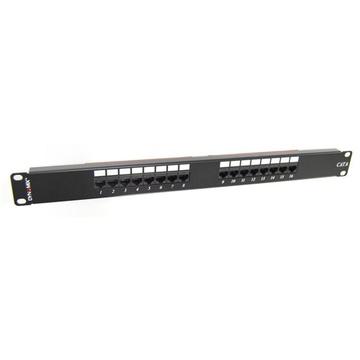DYNAMIX PP-C6-16 16-Port 19' Cat6 UTP Patch Panel