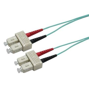 DYNAMIX 50u SC/SC OM3 Fibre Lead (1m)