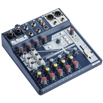 Soundcraft Notepad-8FX Small-Format Analog Mixing Console with USB I/O and Lexicon Effects