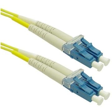 DYNAMIX 9u LC/LC Fibre Lead (Duplex, Single Mode, 7.5m)
