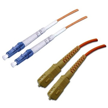 DYNAMIX 62.5u LC/SC OM1 Fibre Lead (Duplex, Multi-mode, 2m)