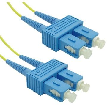 DYNAMIX 9u SC/SC Fibre Lead (Duplex, Single Mode, 0.5m)