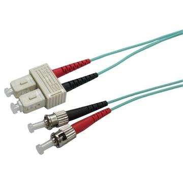 DYNAMIX 50u SC/ST OM3 Fibre Lead (Duplex, Multi-mode, 3m)