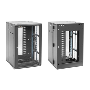 DYNAMIX RDME24 24RU 600mm Deep Universal Swing Frame Cabinet