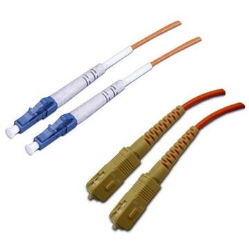 DYNAMIX 62.5u LC/SC OM1 Fibre Lead (Duplex, Multi-mode, 0.5m)