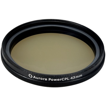 Aurora-Aperture PowerCPL 43mm Gorilla Glass Circular Polarizer Filter