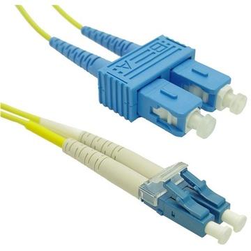 DYNAMIX 9u LC/SC Fibre Lead (Duplex, Single Mode, 20m)