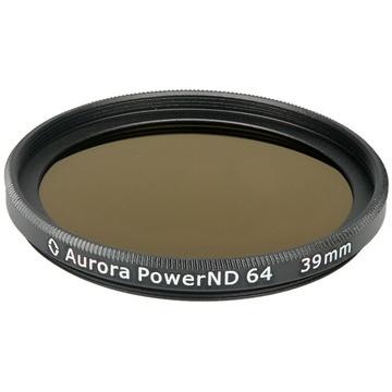 Aurora-Aperture PowerND ND64 39mm Neutral Density 1.8 Filter